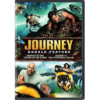 Journey to the Center of the Earth/Journey 2 [DVD] USA import