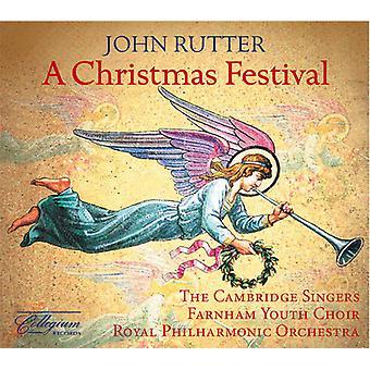 John Rutter - A Christmas Festival [CD] USA import