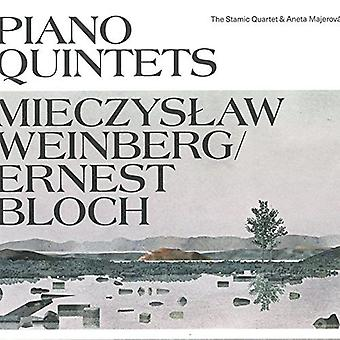 Bloch / Stamic Quartet / Majerova - Weinberg & Bloch: Piano Quintets [CD] USA import