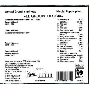 Honegger/Milhaud/Poulenc - Le Groupe Des Six [CD] USA import