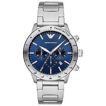 Armani Watches Ar11306 Blue And Stainless Steel Mens Watch