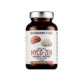 Mushrooms4Life Organic Myco-Zen Caps 60 (ML0037)
