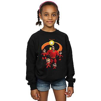 Disney Girls Incredibles 2 Ryhmä Logo Collegepaita
