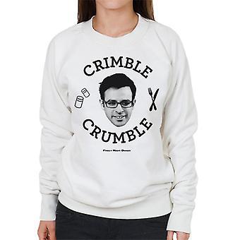 Friday Night Dinner Adam Crimble Crumble Women's Sweatshirt
