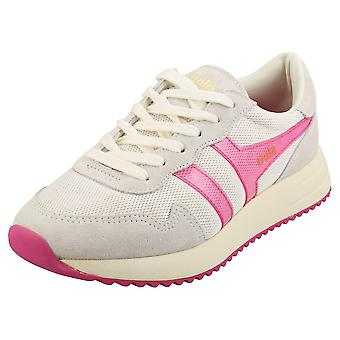 Gola Vancouver Mesh Donne Fashion Trainers in Rosa Bianco