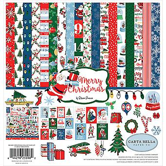 Carta Bella Merry Christmas 12x12 Inch Collection Kit