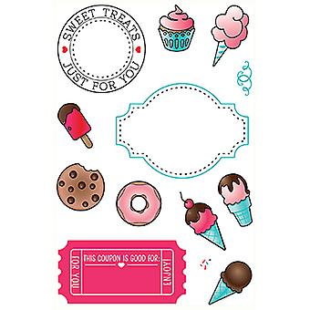 LDRS Creative Sweet Treats Clear Stamps