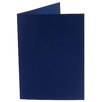 Papicolor Marine Blau A6 Doppelkarten