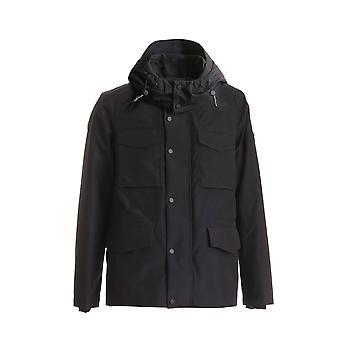 Peuterey Peu363501181106ner Men's Black Polyester Down Jacket