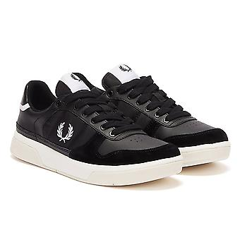 Fred Perry B300 Mens Black / White Trainers