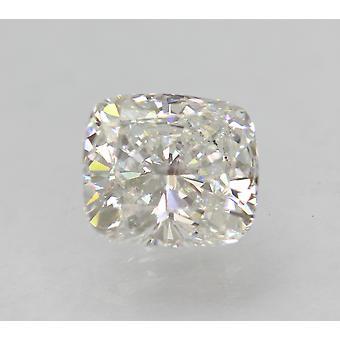 Zertifiziert 1.51 Karat D VS1 Kissen Enhanced Natural Loose Diamond 7.05x6.34m 2VG