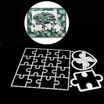 Square Lace Label Metal Cutting Dies Stencils