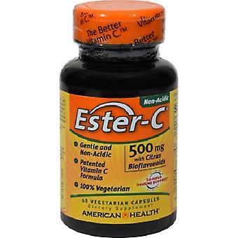 American Health Ester C kanssa Citrus Bioflavonoids Kasvissyöjä Kapselit