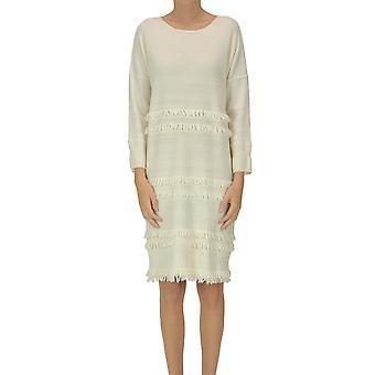 Archivio B Ezgl385013 Women's Bege Wool Dress