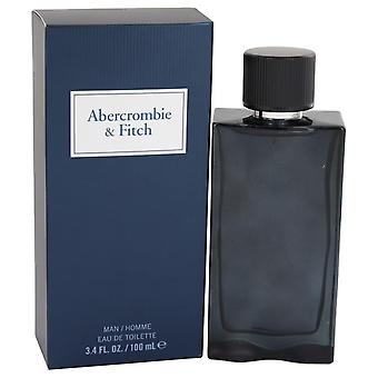 Első ösztön Blue Eau de toilette spray által Abercrombie & Fitch 3,4 oz Eau de toilette spray