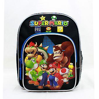 Mini Plecak - Nintendo - Super Mario Group Black 10