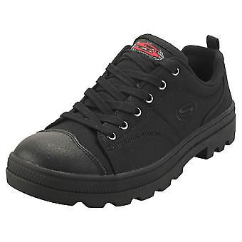 Skechers Roadies True Roots Mulheres Fashion Trainers em Preto Preto