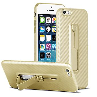 Protection Cell Phone Case pour Apple iPhone 6/6s Calling Bling-Etui Plastic Gold