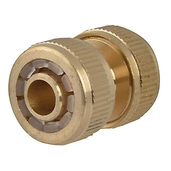 Faithfull Brass Hose Mender 12.5mm (1/2in) FAIHOSEMEND