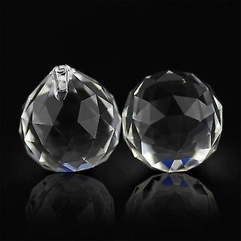 Chandelier Crystal-glass Balls Cut-faceted Balls For Hanging Lamp Lighting Part
