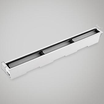 Linha de led de parede polarizada incorporada - Lâmpada de holofotes