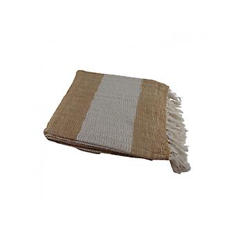 Deco4yourhome Cotton Plaid Creme/white