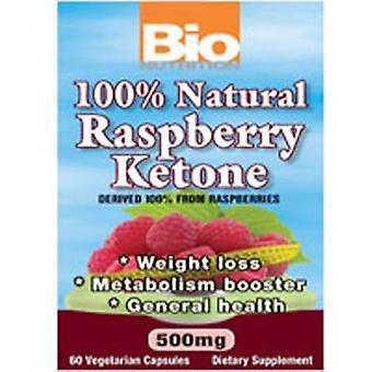 Bio Nutrition Inc Rasberry Ketone, 500 mg, 60 vcaps