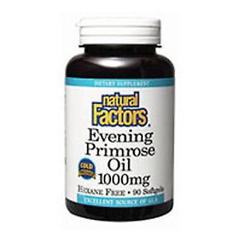 Luonnolliset tekijät Ilta Primrose Öljy, 1000 mg, 240 Softgels