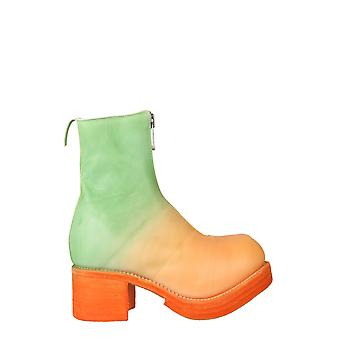 Guidi Pl1wzdgco6974 Women's Multicolor Leather Ankle Boots