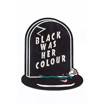 Punky Pins Black Was Her Colour Epitaph Enamel Pin