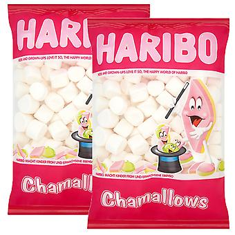 2 x 1kg Haribo White Marshmellow BBQ Kids Party Sweets Snack Christmas Gift