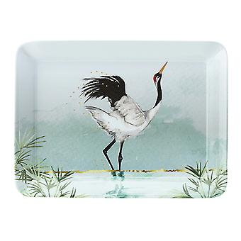 English Tableware Company Reflections Scatter Tray Wild Bird DD4536A01
