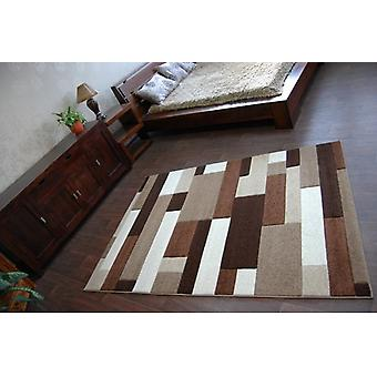 Tæppe PILLY H201-8403 - guld/kakao