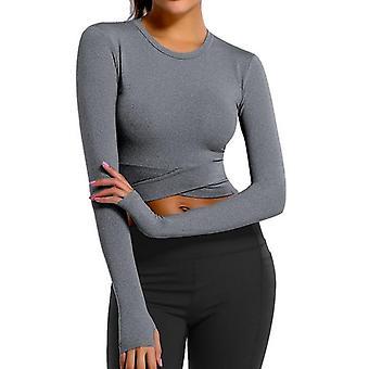Women Long Sleeve Sports Tops