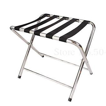 Hotel Rack Stainless Room Folding Luggage Clothing Tray Rack Home/office