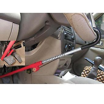 Car Steering Wheel Lock Pedal Clutch Lock Retractable Brake High Anti-theft