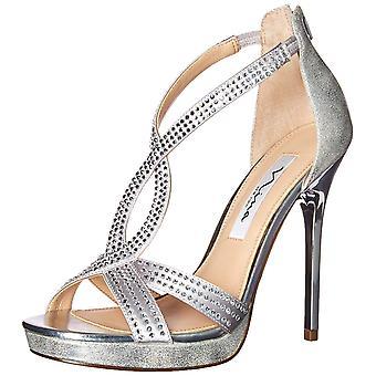 Nina mujeres FIANNA-YF cuero abierto dedo del pie casual tobillo tira sandalias
