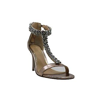 BADGLEY MISCHKA Womens Janna Open Toe Casual T-Strap Sandales