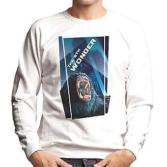 King Kong The 8th Wonder Roaring Rage In The City Men's Sweatshirt