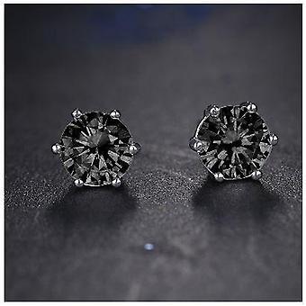 Beam Black Cz Earring