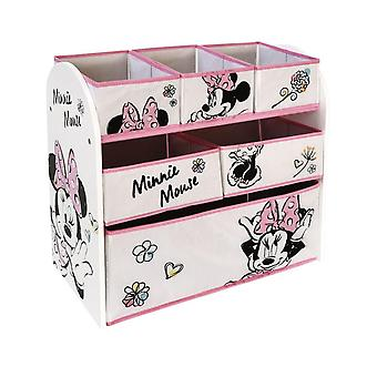 Minnie Natural Multicontenitor Game Carrier Shelf