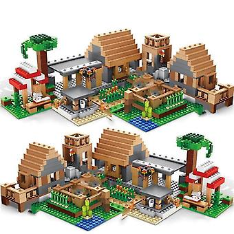 Mountain Cave Light My Worlds Village Warhorse City Tree House med elevator