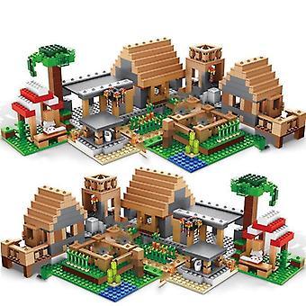 Mountain Cave Light My Worlds Village Warhorse Městský stromový dům s výtahem