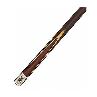 Powerglide Tournament Prism 2 Piece Ash & Rosewood Snooker Cue with Soft Case