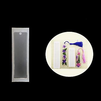 Diy Transparent Uv Resin Liquid - Silicone Rectangle Bookmarks Resin Molds