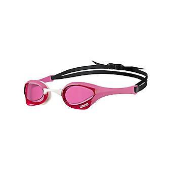 Arena Cobra Ultra simma Goggle-rosa lins-rosa/vit ram