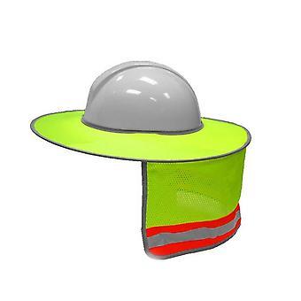 Sonnenschirm Outdoor Bau Sicherheit Hard Hat/Sun Shade & Neck Shield