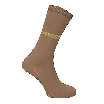 Levis Unisex 2 Pack Trainer Socken Premium Baumwolle gerippten Sum Zubehör