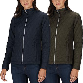 Regatta Womens Josie Gibson Charna Geïsoleerde Dimond Gewatteerde Country Jacket Jas