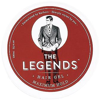 Eurostil The Legends Hair Gel Maximun Hold 220 ml